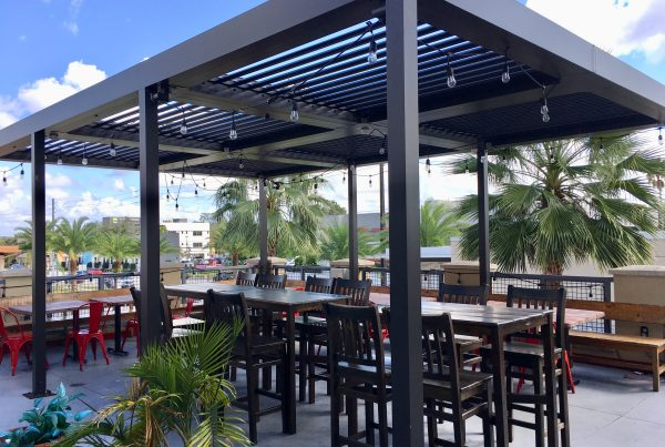 Outside Seating Area of Business for Sale in Orlando