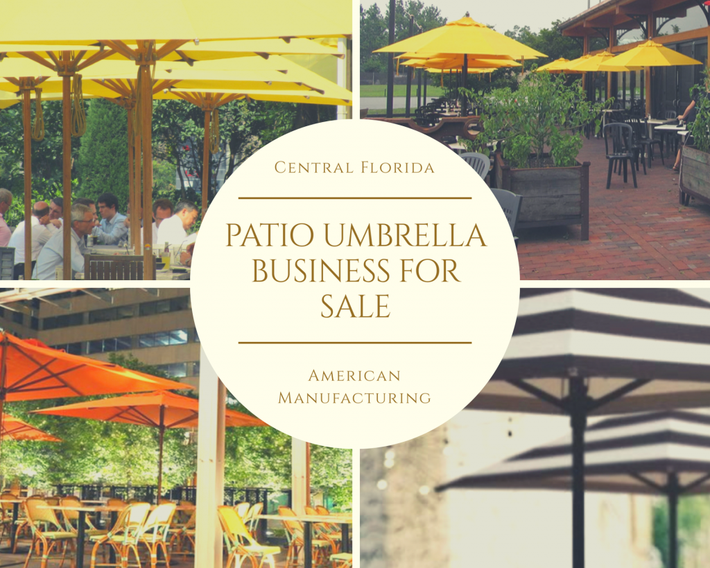 Patio Manufacturing business for sale in Orlando Florida